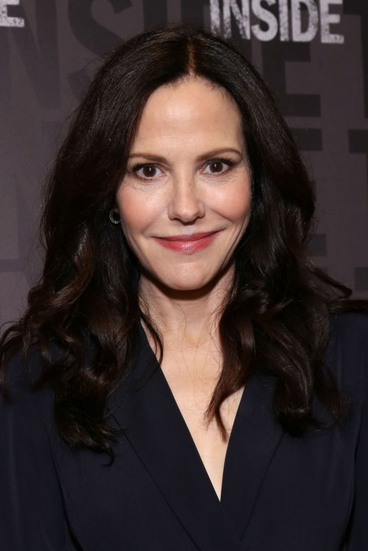 MARY-LOUISE PARKER at Sound Inside Broadway Play Photocall in New York 09/20/2019