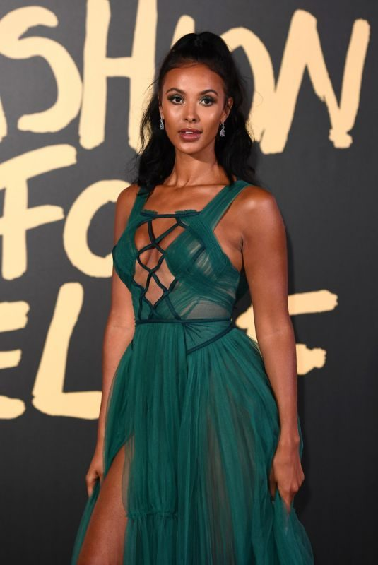 MAYA JAMA at Fashion for Relief Gala 2019 in London 09/14/2019