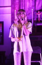 MEGAN MCKENNA Performs at St John on Bethnal Green in London 09/17/2019