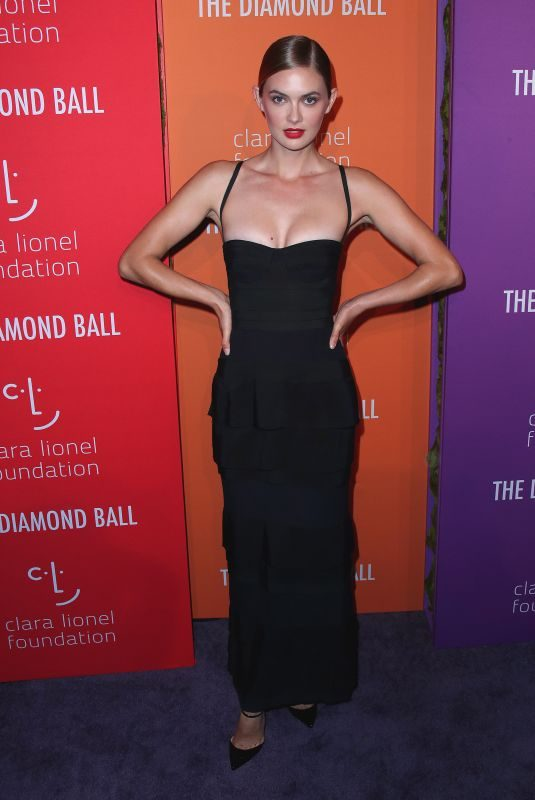 MEGAN WILLIAMS at 5th Annual Diamond Ball at Cipriani Wall Street in New York 09/12/2019