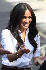 MEGHAN MARKLE at Smart Works Capsule Collection Launch in London 09/12/2019