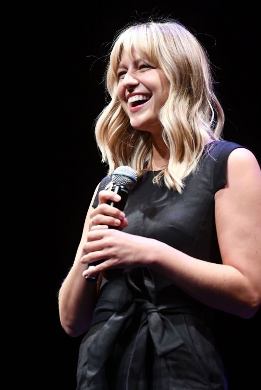 MELISSA BENOIST Performs at Concert for America at Royce Hall in Los Angeles 09/22/2019