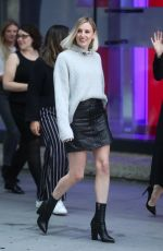 MICHELLE DOCKERY and LAURA CARMICHAEL Arrives at The One Show in London 09/10/2019