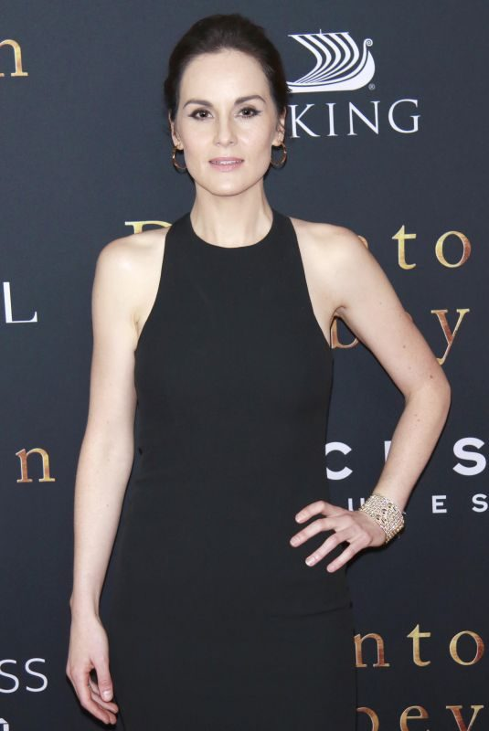 MICHELLE DOCKERY at Downton Abbey Premiere in New York 09/16/2019