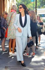 MICHELLE DOCKERY Leaves The View in New York 09/18/2019