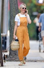 MICHELLE WILLIAMS Out with her Dog in New York 09/15/2019