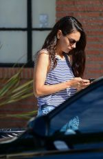 MILA KUNIS Out in Los Angeles 09/05/2019