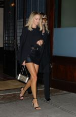 MILEY CYRUS and KAITLYNN CARTER Leaves Greenwich Hotel in New York 09/10/2019