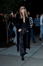MILEY CYRUS Leaves Tom Ford Fashion Show in New York 09/09/2019