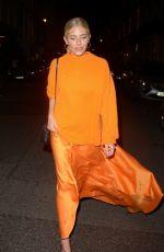 MOLLIE KING at Amanda Wakeley Presentation at London Fashion Week 09/12/2019
