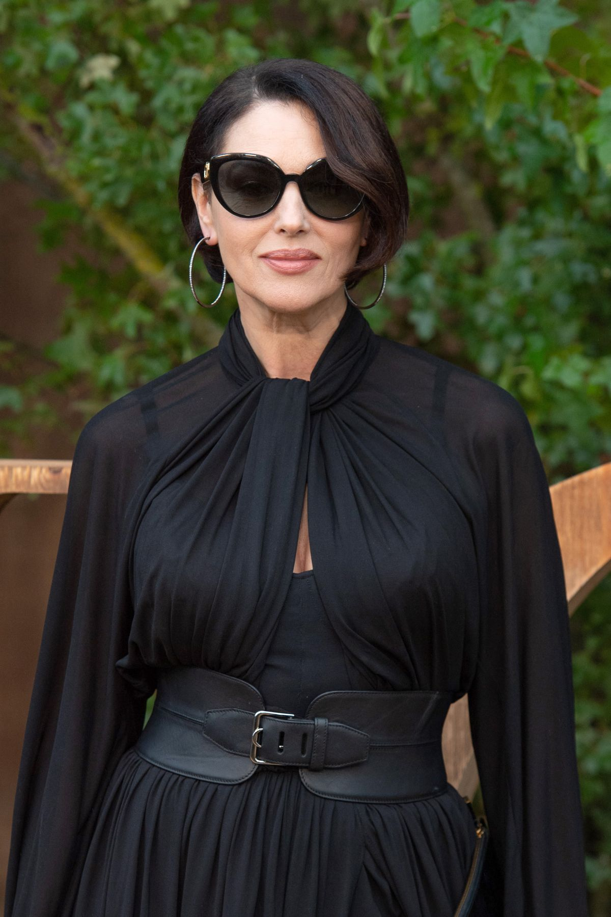 MONICA BELLUCCI at 18th Fashion Dinner for Aids Sidaction