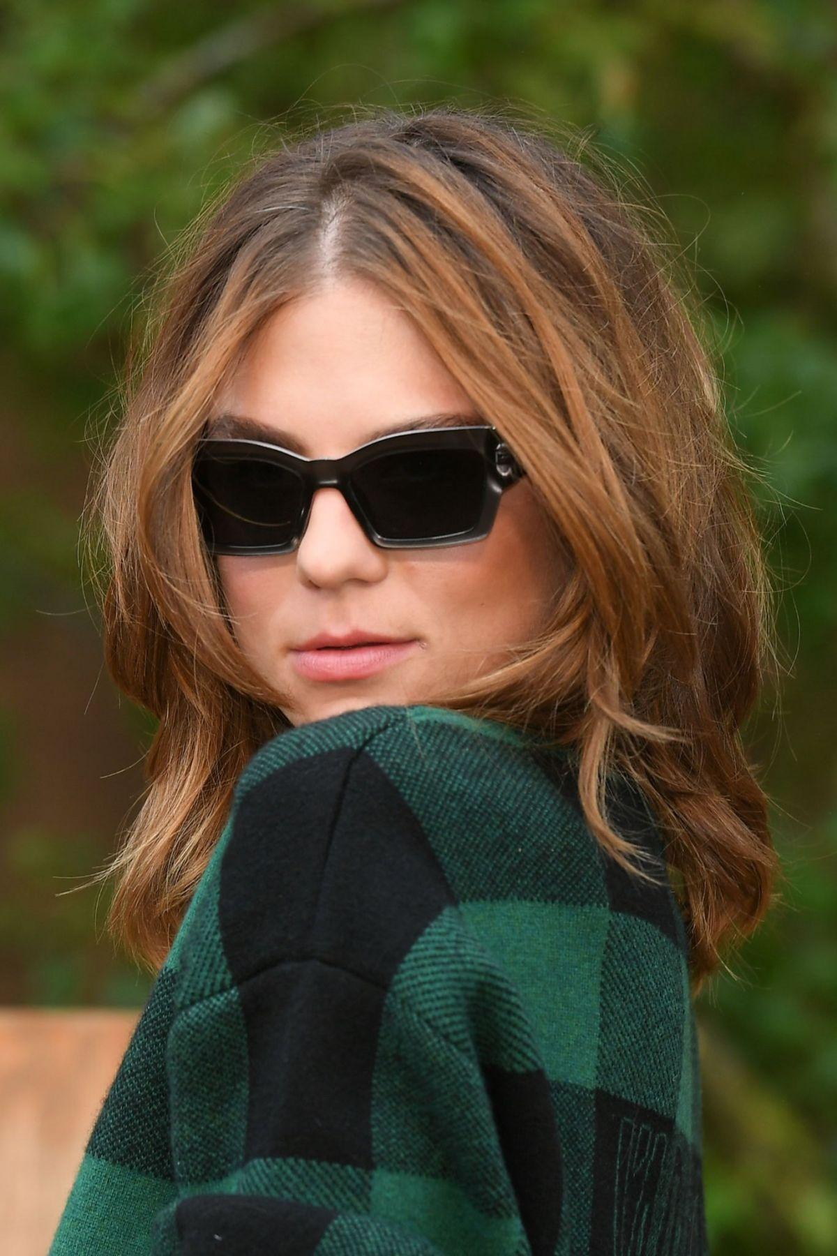 MORGANE POLANSKI at Christian Dior Show at Paris Fashion