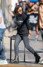 NAOMI SCOTT Arrives at Jimmy Kimmel Live! in Los Angeles 09/23/2019