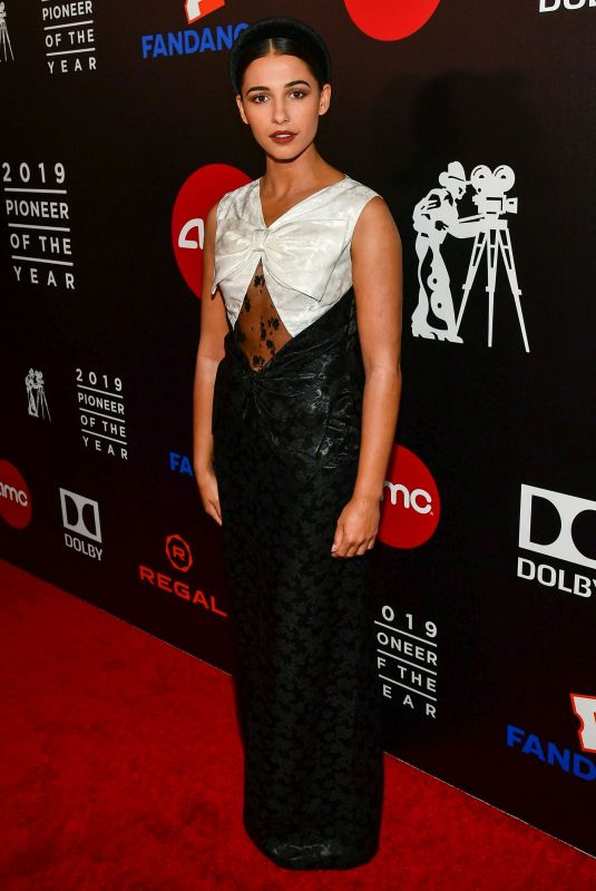 NAOMI SCOTT at Will Rogers 78th Annual Pioneer Dinner Honoring Elizabeth Banks in Beverly Hills 09/25/2019