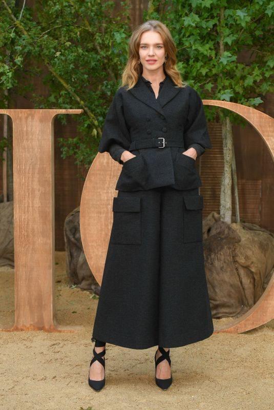 NATALIA VODIANOVA at Christian Dior Show at Paris Fashion Week 09/24/2019