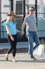 NATALIE DORMER and David Oakes Shopping on Melrose Place in West Hollywood 09/12/2019