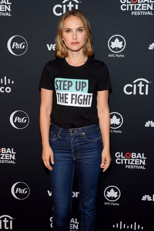 NATALIE PORTMAN at 2019 Global Citizen Festival: Power the Movement in New York 09/28/2019