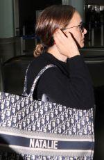NATALIE PORTMAN at Airport in Toronto 09/10/2019
