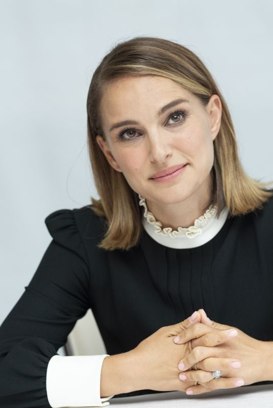 NATALIE PORTMAN at Last Christmas Press Conference in Beverly Hills 09/20/2019