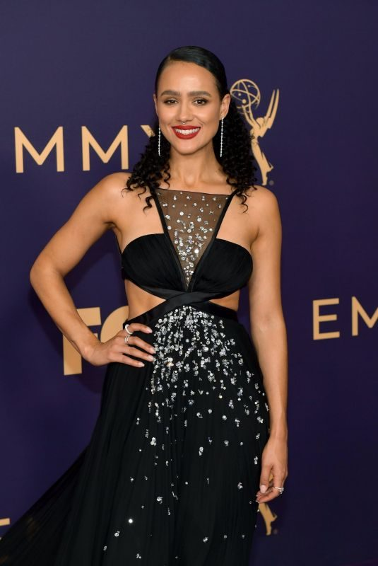 NATHALIE EMMANUEL at 71st Annual Emmy Awards in Los Angeles 09/22/2019