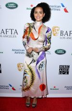 NATHALIE EMMANUEL at Bafta LA + BBC America TV Tea Party 09/21/2019