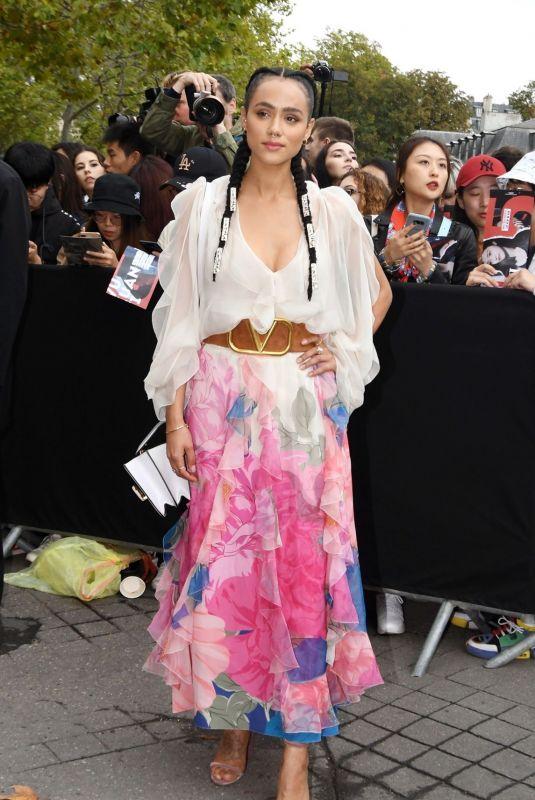 NATHALIE EMMANUEL at Valentino Fashion Show at PFW in Paris 09/29/2019