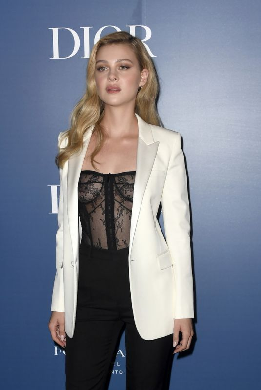 NICOLA PELTZ at HFPA x Hollywood Reporter Party in Toronto 09/07/2019