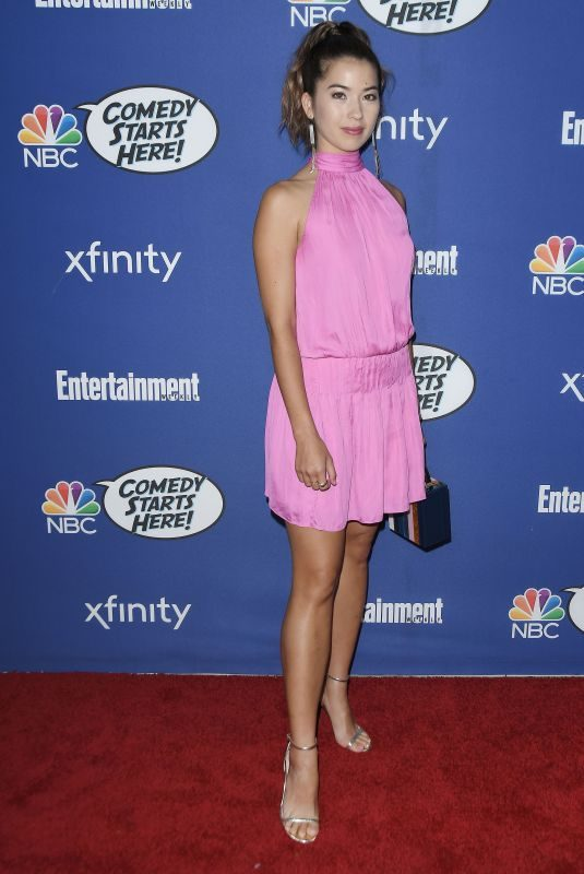 NICOLE BLOOM at NBC's Comedy Starts Here Event in Los Angeles 09/16/2019