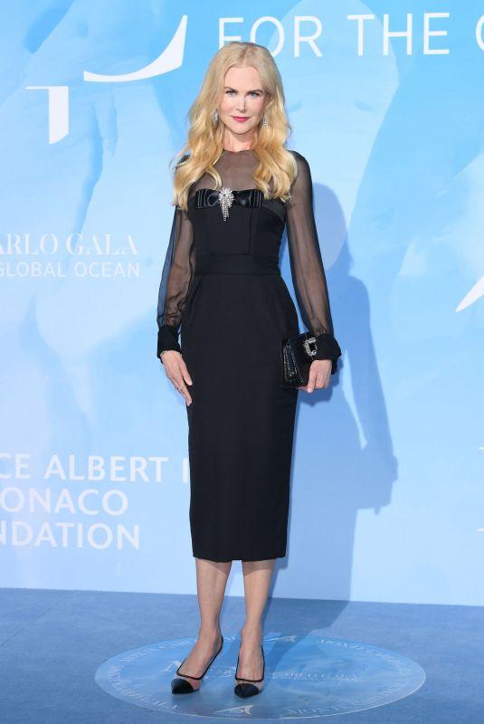 NICOLE KIDMAN at Gala for the Global Ocean 2019 in Monte-Carlo 09/26/2019
