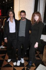 NICOLE ROBERTS at Cafe Ami by Ami Launch in Paris 05/09/2019