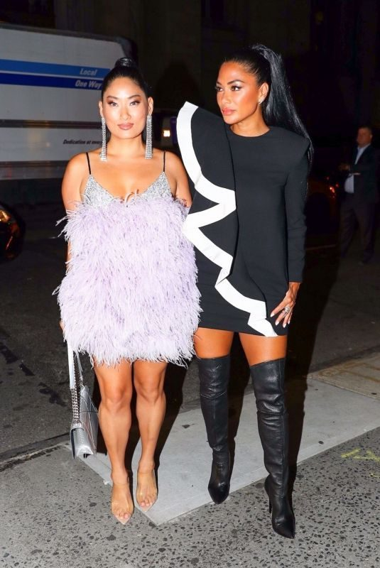 NICOLE SCHERZINGER and CHLOE FLOWER at L'Avenue Fashion Event in New York 09/05/2019