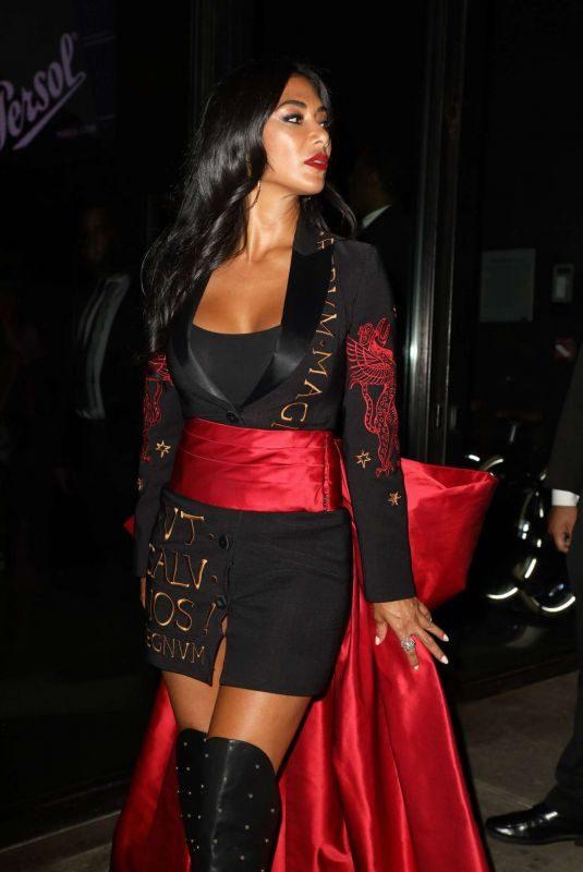 NICOLE SCHERZINGER Leaves Jeremy Scott Show at New York Fashion Week 09/07/2019