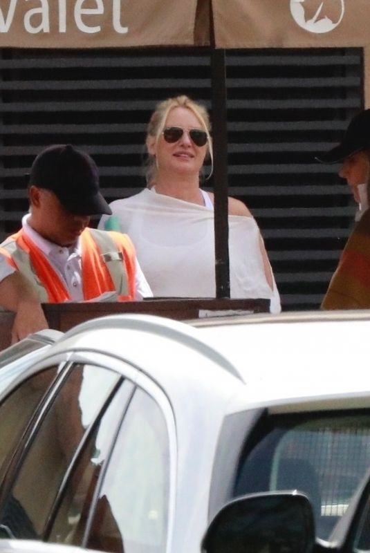 NICOLLETTE SHERIDAN Out for Lunch at Nobu in Malibu 09/22/2019
