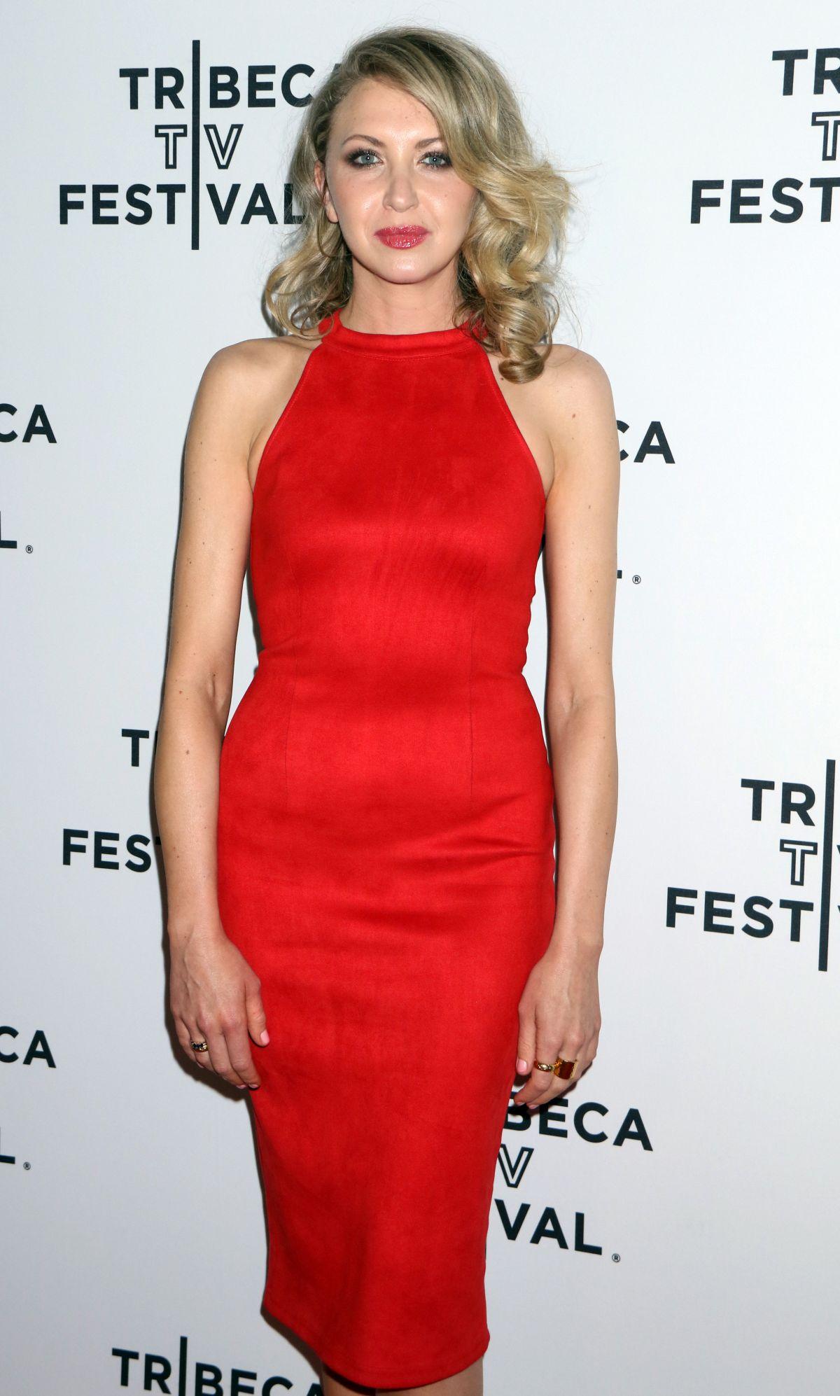 NINA ARIANDA at Goliath Screening at Tribeca TV Festival