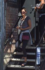NINA DOBREV Leaves a Gym in West Hollywood 09/10/2019