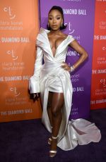 NORMANI KORDEI at 5th Annual Diamond Ball at Cipriani Wall Street in New York 09/12/2019