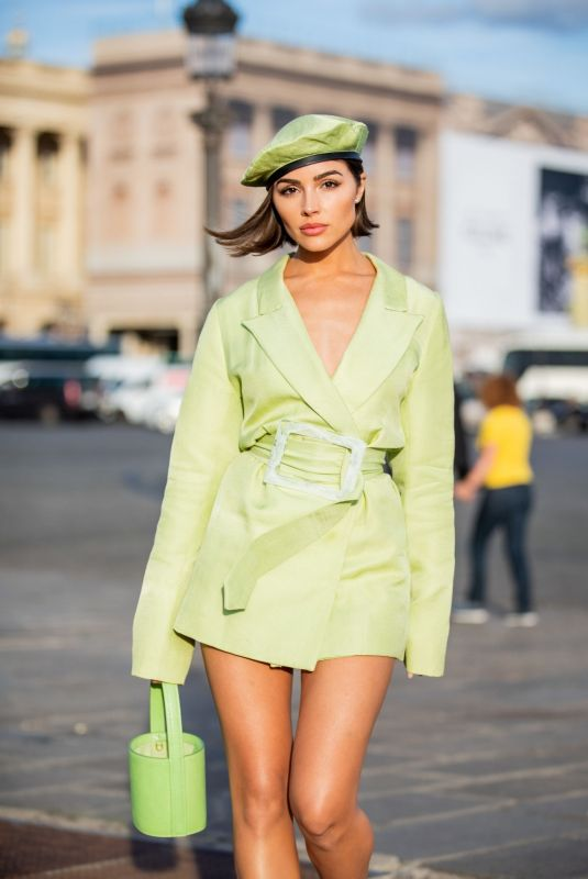 OLIVIA CULPO Out and About in Paris 09/28/2019