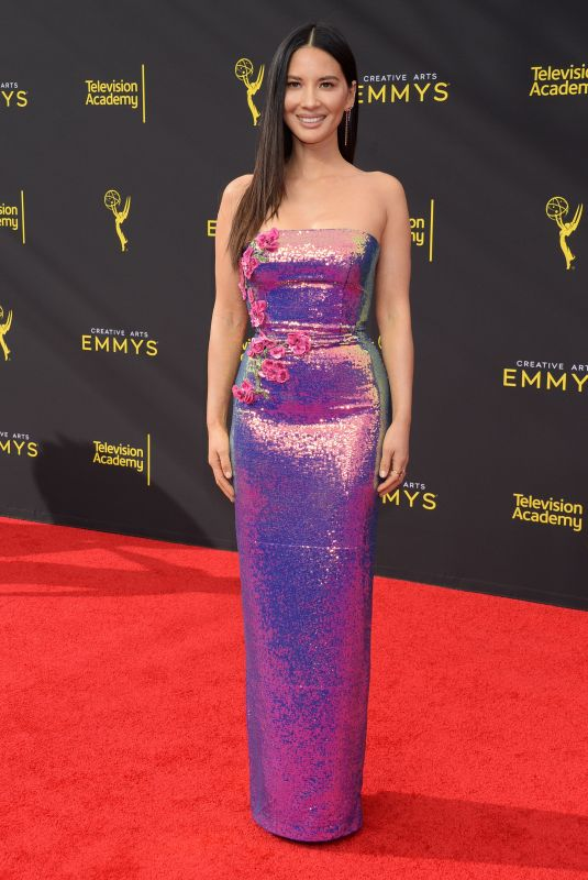 OLIVIA MUNN at 71st Annual Creative Arts Emmy Awards in Los Angeles 09/2015/2019