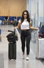 OLIVIA MUNN at Airport in Montreal 09/22/2019