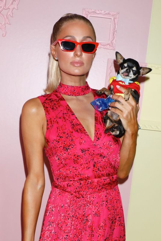 PARIS HILTON at Alice + Olivia by Stacey Bendet Fashion Show in New York 09/09/2019