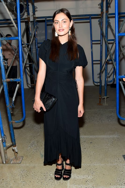 PHOEBE TONKIN at Proenza Schouler Show at New York Fashion Week 09/10/2019