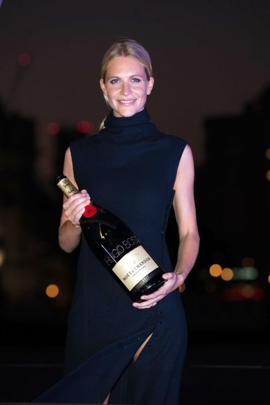POPPY DELEVINGNE at Hugo Boss Yacht Christening and Cocktail Reception in London 09/19/2019