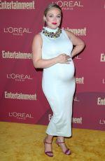Pregnant AMANDA FULLER at 2019 Entertainment Weekly and L