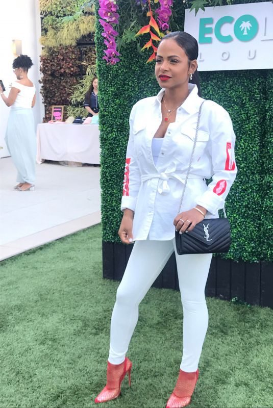 Pregnant CHRISTINA MILIAN at Debbie Durkin's Ecoluxe Lounge TV Awards in Beverly Hills 09/20/2019