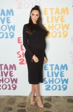 Pregnant NABILLA BENATTIA at Etam Fashion Show at PFW in Paris 09/24/2019
