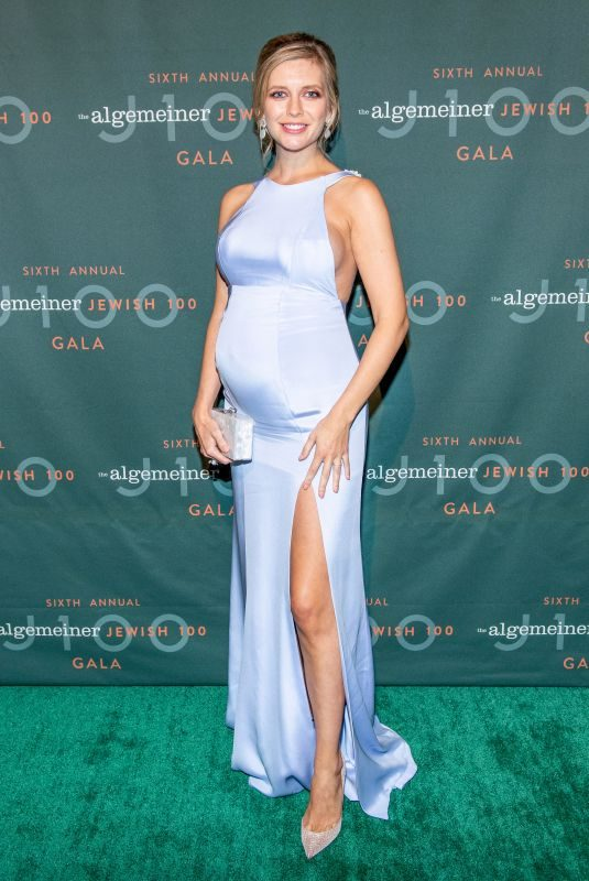 Pregnant RACHEL RILEY at Annual Algemeiner J100 Gala at Gotham Hall in New York 09/26/2019