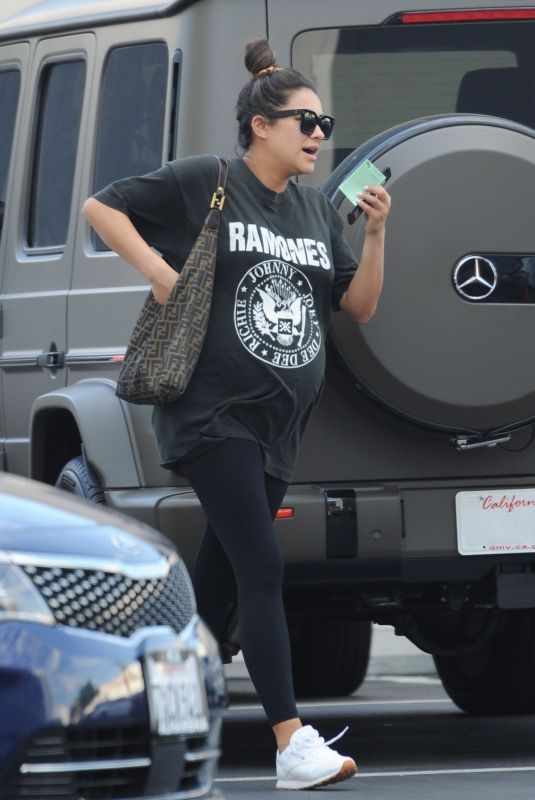 Pregnant SHAY MITCHELL Heading to Doctors Appointment in Los Angeles 09/04/2019