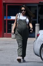 Pregnant SHAY MITCHELL Shopping at Best Buy in Los Angeles 09/14/2019