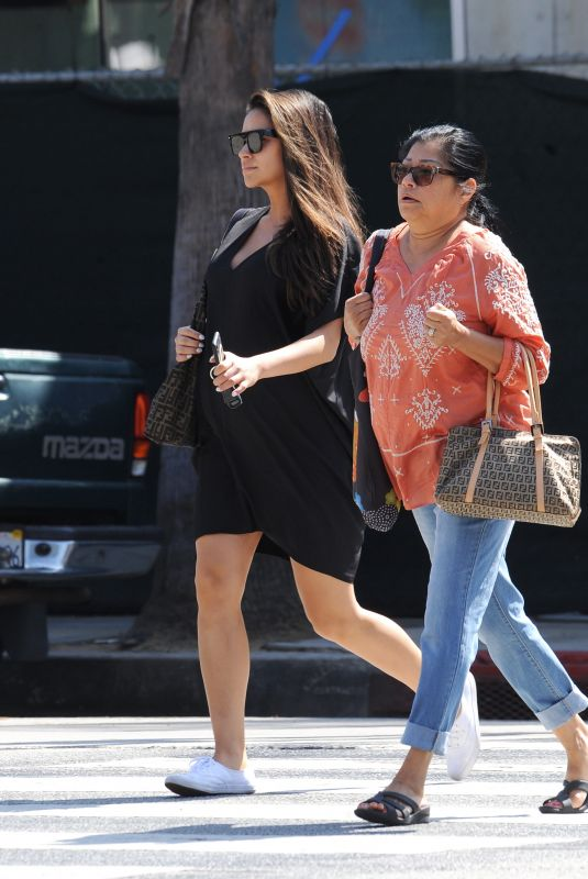 Pregnant SHAY MITCHELL Shopping for Baby Furniture in Santa Monica 09/20/2019