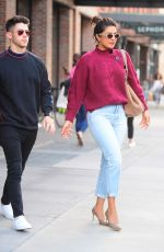 PRIYANKA CHOPRA and Nick Jonas Out in New York 09/09/2019